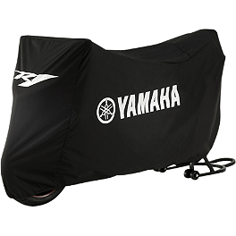 GYTR R1 Bike Cover - Black - GYTR Raised Bubble Windscreen - Tinted