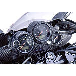 GYTR Carbon Fiber Instrument Panel Cover - Dirt Bike Gauges