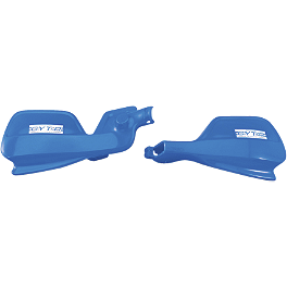Yamaha Genuine OEM Splash Guards - Blue - GYTR Woods Style Brush Deflector Mounts