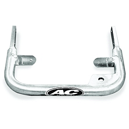 AC Racing ATV Grab Bar - 2007 Yamaha YFZ450 AC Racing MX Peg Nerf Bars - Silver