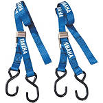 Yamaha Genuine OEM Buckle Tie Downs - Blue - Dirt Bike Tie Downs and Anchors