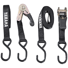 Yamaha Genuine OEM Tie Downs - Black - Yamaha Genuine OEM Buckle Tie Downs - Black