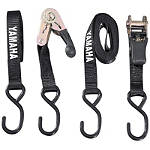 Yamaha Genuine OEM Tie Downs - Black -  Motorcycle Tools and Maintenance