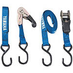 Yamaha Genuine OEM Tie Downs - Blue - Yamaha OEM Parts Motorcycle Products