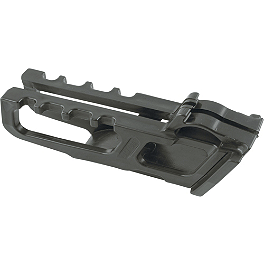 Acerbis Chain Guide Block - Acerbis Swing Arm Rub Plate - Black