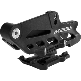 Acerbis Chain Guide - KTM Black - 2012 KTM 125SX Acerbis Spider Evolution Disc Cover Mounting Kit