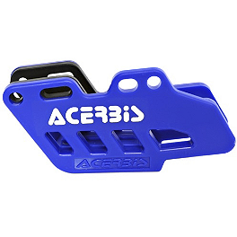 Acerbis Chain Guide - Blue - Acerbis Swing Arm Rub Plate - Blue