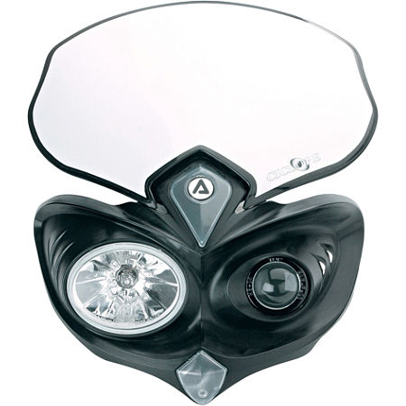 Acerbis Cyclops Headlight - Black - Main
