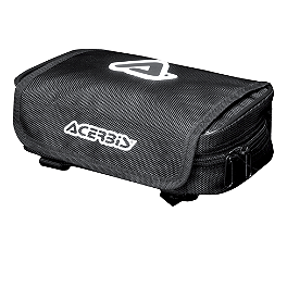 Acerbis Fender Bag - 2008 Kawasaki KLR650 Kawasaki Genuine Accessories Handlebar Bag