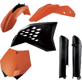 Acerbis Full Plastic Kit - Acerbis Full Plastic Kit - KTM