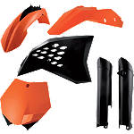 Acerbis Full Plastic Kit - Acerbis Dirt Bike Plastics & Plastic Kits