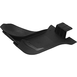 Acerbis Glide Plate - Black - Cycra Full Coverage Skid Plate - Black