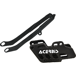 Acerbis Chain Guide / Slider Kit - Black - 2010 Kawasaki KX250F Acerbis Plastic Kit