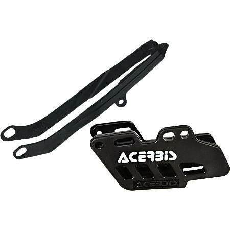 Acerbis Chain Guide / Slider Kit - Black - Main