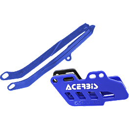 Acerbis Chain Guide / Slider Kit - Blue - Acerbis Swing Arm Rub Plate - Blue