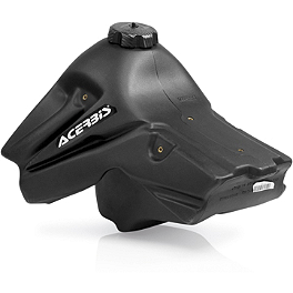 Acerbis Gas Tank 2.9 Gallons - Black - 2005 Honda CRF450R Clarke Gas Tank 2.6 Gallons - Black