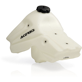 Acerbis Gas Tank 2.9 Gallons - Natural - 2006 Honda CRF450R Acerbis Spider Evolution Disc Cover With Mount Kit
