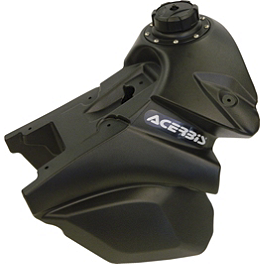 Acerbis Gas Tank 3.2 Gallons - Black - 2013 KTM 350EXCF Acerbis Spider Evolution Disc Cover With Mount Kit