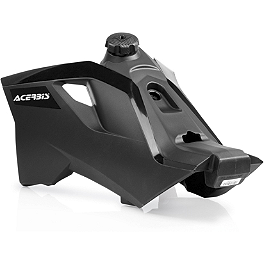 Acerbis Gas Tank 3.4 Gallons - Black - 2008 KTM 505SXF Acerbis Spider Evolution Disc Cover With Mount Kit