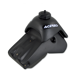 Acerbis Gas Tank 3.3 Gallons - Black - Acerbis Gas Tank 5.8 Gallons - White