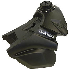 Acerbis Gas Tank 3.2 Gallons - Black - 2012 KTM 125SX Acerbis Spider Evolution Disc Cover With Mount Kit