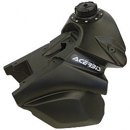 Acerbis Gas Tank 3.2 Gallons - Black - 2011 KTM 350SXF Acerbis Fork Cover Set