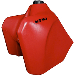 Acerbis Gas Tank 5.8 Gallons - Red - 2004 Honda XR400R Clarke Gas Tank