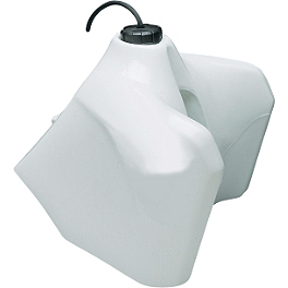 Acerbis Gas Tank 5.8 Gallons - White - Acerbis Gas Tank 6.6 Gallons - Natural