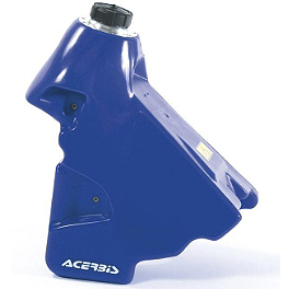 Acerbis Gas Tank 3.4 Gallons - Blue - 2002 Yamaha YZ250F IMS Gas Tank - 3.2 Gallons Natural