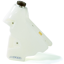 Acerbis Gas Tank 3.2 Gallons - Natural - 2002 Yamaha YZ250F IMS Gas Tank - 3.2 Gallons Natural