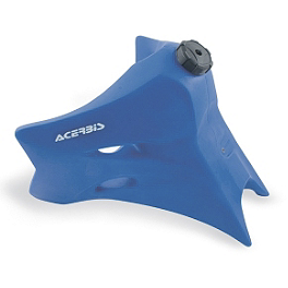 Acerbis Gas Tank 3.3 Gallons - Blue - 2005 Yamaha YZ250F Acerbis Spider Evolution Disc Cover With Mount Kit