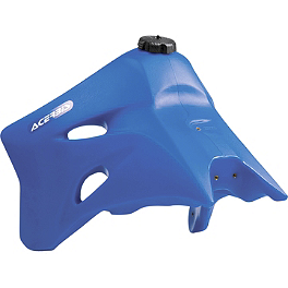 Acerbis Gas Tank 3.3 Gallons - Blue - 2006 Yamaha YZ450F Acerbis Mud Flap Black