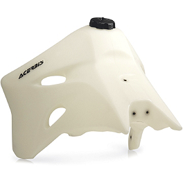 Acerbis Gas Tank 3.3 Gallons - Natural - 2009 Yamaha YZ450F Acerbis Spider Evolution Disc Cover With Mount Kit