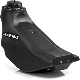 Acerbis Gas Tank 2.3 Gallons - Black - IMS Gas Tank - 2.4 Gallons Natural