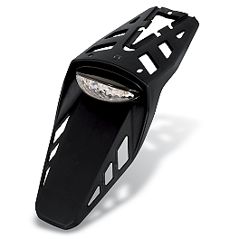 Acerbis Universal LED CE Certified Tail Light - 1998 Suzuki RM125 Acerbis Swing Arm Rub Plate - Black