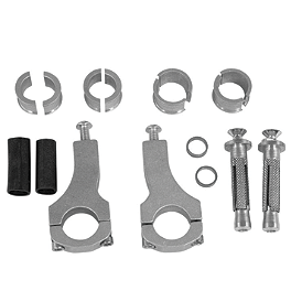Acerbis X-Strong Handguard Mount Kit - Acerbis Chain Guide / Slider Kit - Black