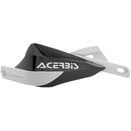 Acerbis Rally III Handguards - 1983 Honda CR125 Acerbis Mud Flap Black