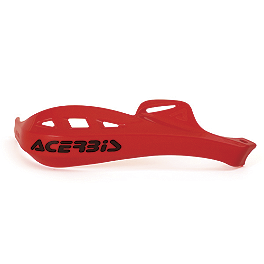 Acerbis Rally Profile X Hand Guard - Acerbis Rally Pro Spoilers - Black