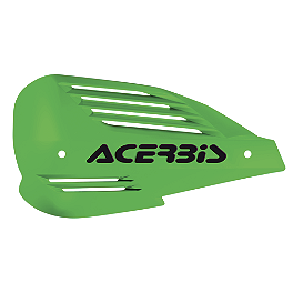 Acerbis Ram Handguards - 1983 Honda CR250 Acerbis Mud Flap Black