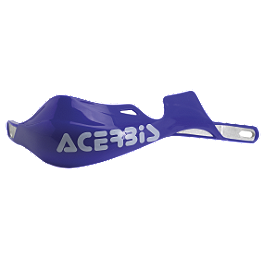 Acerbis Rally Pro X-Strong Handguards - Acerbis Auxiliary Handlebar Fuel Tank 0.6 Gallon - White