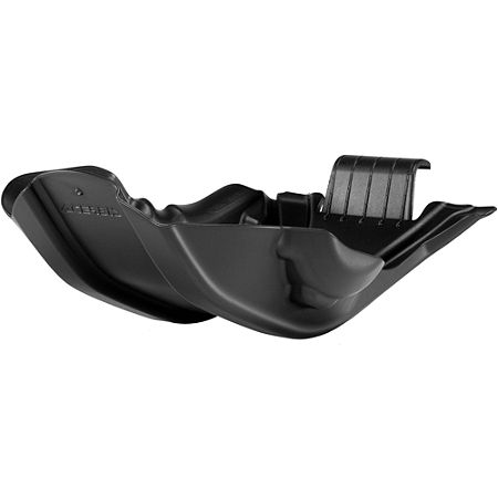 Acerbis Skid Plate - Black - Main