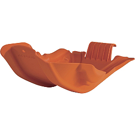 Acerbis Skid Plate - Orange - Acerbis Full Plastic Kit