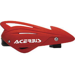 Acerbis Tri-Fit Handguards - 1988 Kawasaki KX125 Acerbis Mud Flap Black