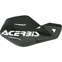 Acerbis Uniko MX Handguards - 1980 Honda CR250 Acerbis Mud Flap Black