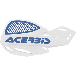 Acerbis Uniko MX Vented Handguards - 2009 Honda CRF450X Acerbis Swing Arm Rub Plate - Black