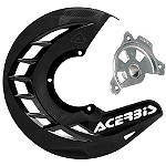 Acerbis X-Brake Disc Cover With Mount - Dirt Bike Disc Guards
