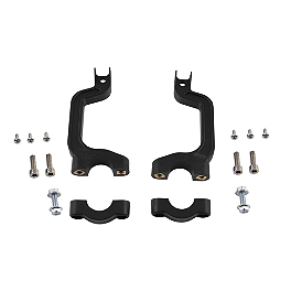 Acerbis X-Force Handguard Mount Kit - 1990 Kawasaki KX125 Acerbis Mud Flap Black