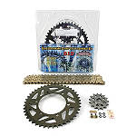AFAM 520 Sprocket And Chain Kit - Stock Gearing - AFAM Dirt Bike Motorcycle Parts