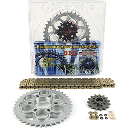 AFAM 525 Sprocket And Chain Kit - Stock Gearing - 2004 Ducati Multistrada 1000 DS AFAM 525 Sprocket And Chain Kit - Quick Acceleration