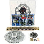 AFAM 525 Sprocket And Chain Kit - Stock Gearing - Motorcycle Sprockets